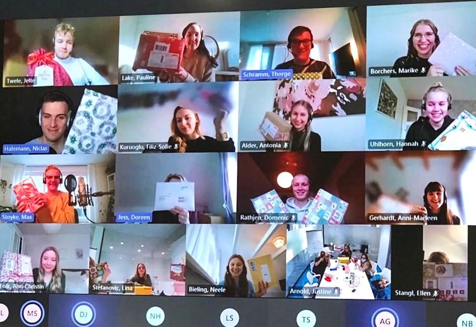 Digitale Weihnachtsfeier 2020