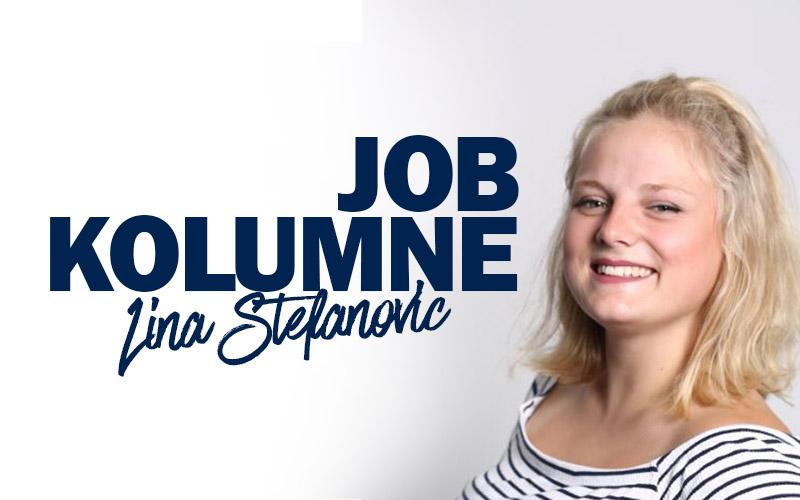 Job-Kolumne Lina Jobmesse